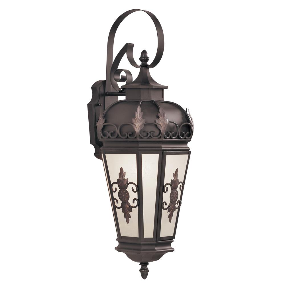 Livex Lighting 2193-07 Berkshire Outdoor Wall Lantern in Bronze